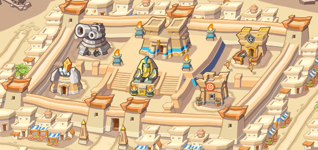 Empires of Sand: The Pharaoh's City
