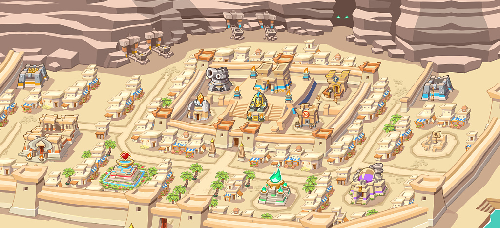 Empires of Sand: pharaoh's city