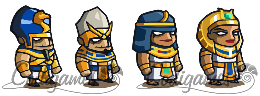 Empires of Sand: The Pharaoh