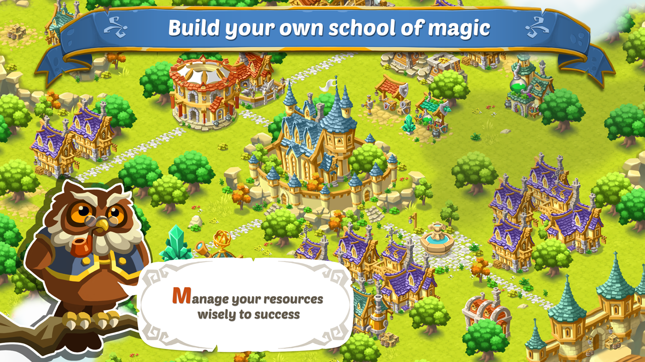 Schools of Magic screen