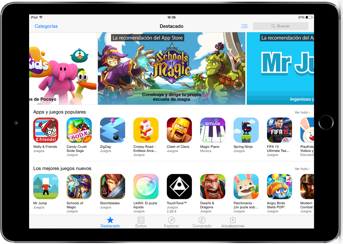 Schools of Magic featured Best New Game iPad