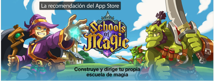 Schools of Magic featured App Store