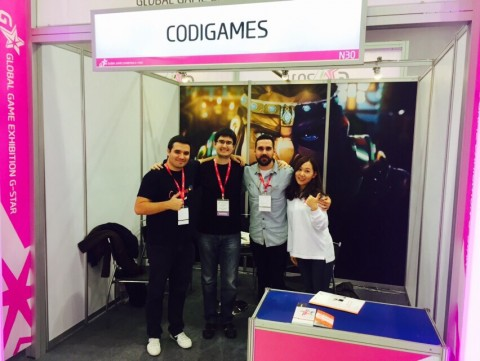 Codigames booth at G-STAR 2015