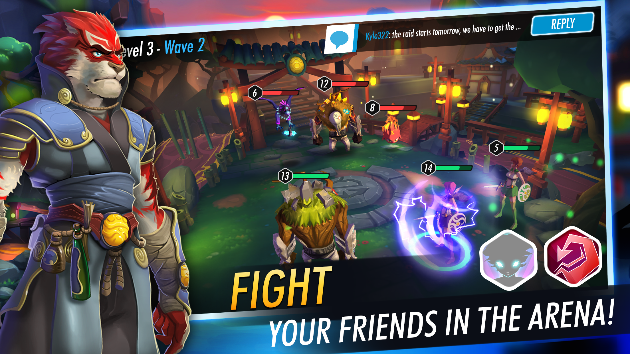Heroes of Rings - Fight your firends