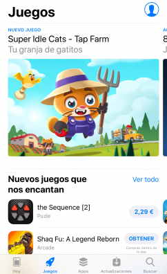 Super Idle Cats on the Spanish App Store