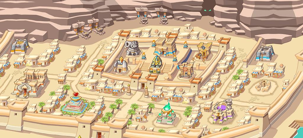 Empires of Sand: pharaoh's city