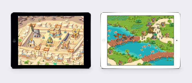 Play Empires of Sand in Multiple Devices