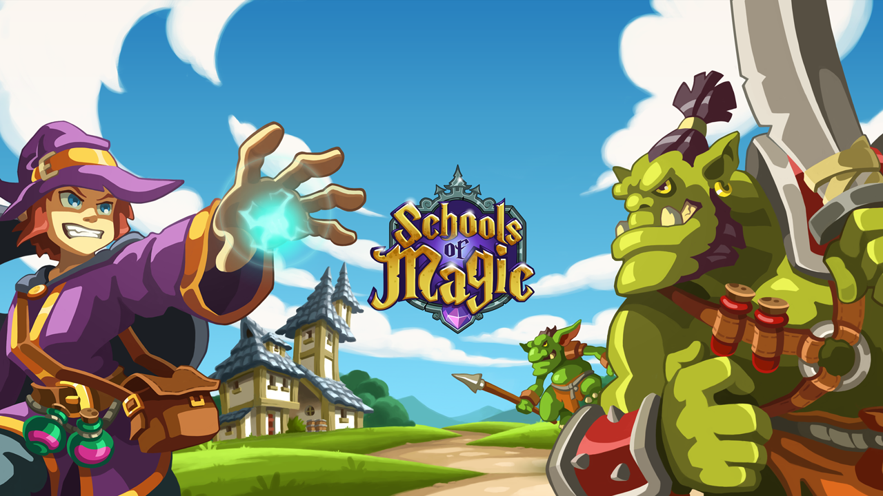 Become A Mage With Schools Of Magic Codigames