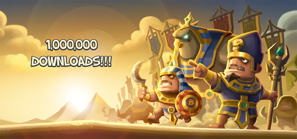 Empires of Sand reaches 1 million downloads