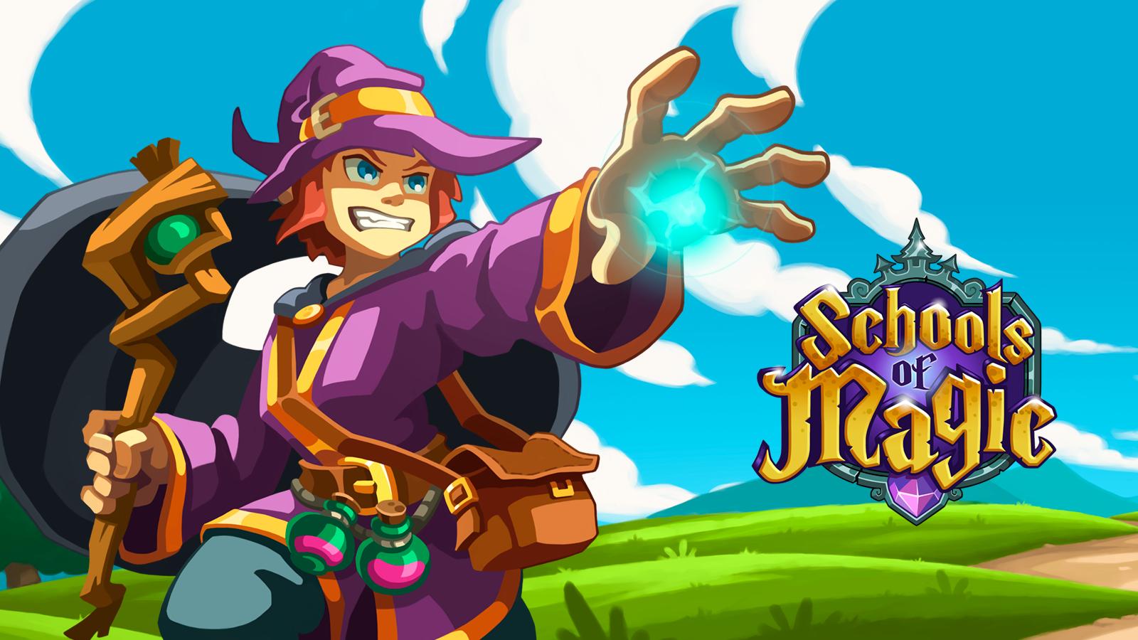 Schools of Magic banner