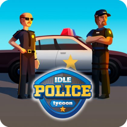 Idle Police Tycoon Icon